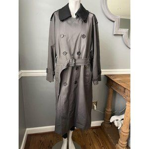 Burberry VTG Belted Trench Coat Zip Lining - 36S